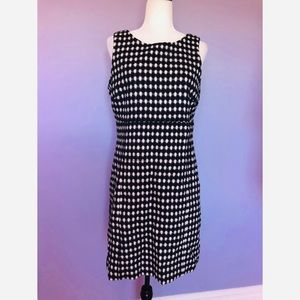 Jack Rogers NWT black & white sleeveless dress